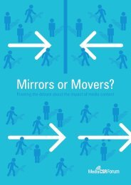 Download the report - Mirrors or Movers?