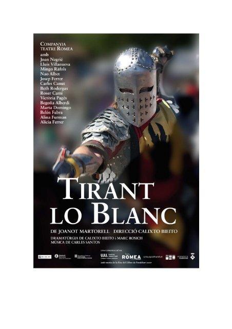 Tirant lo Blanc - Grup Focus
