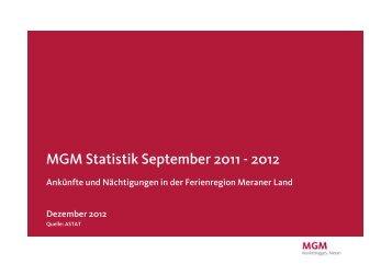 September 2012(PDF - 81 KB) - MGM
