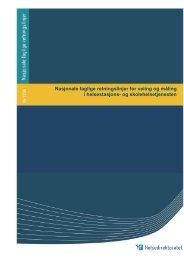 Nasjonale faglige retningslinjer for veiing og måling i helsestasjons ...