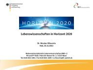 Life Science im HORIZON 2020-Programm_Villacorta