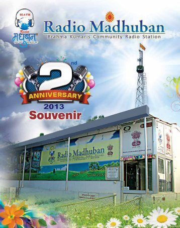 Radio Jockey - Brahma Kumaris ® Community Radio