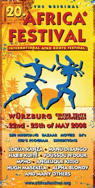 das programm - Africa Festival
