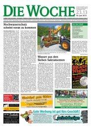 Ausgabe 23/13 - Redaktion + Verlag