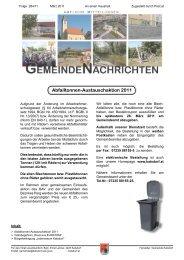 Ausgabe 264/03/2011 - Katsdorf
