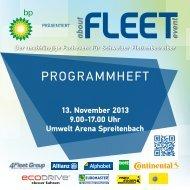 aboutFLEET EVENT Booklet zum Download