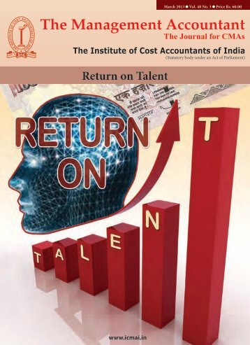 March 2013 - The Institute of Cost Accountants of India