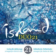 CD Booklet - eisland-liebe