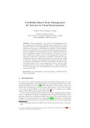 Credibility-Based Trust Management for Services in Cloud ...