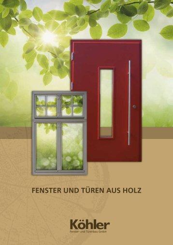 als Pdf zum Download - Köhler - Fenster und Türenbau GmbH