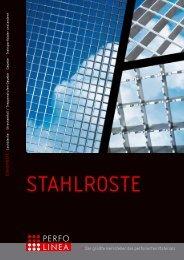Stahlroste Katalog - PERFO LINEA