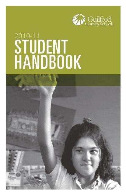 STUDENT HANDBOOK - GCS Online - Guilford County Schools