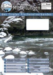 Mitteilungen 02/13 - Tiroler Fischereiverband