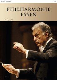 März   April 2013 - Philharmonie Essen