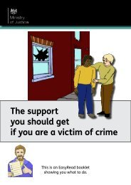 Victims of crime - Gov.uk
