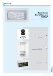 Technische Einrichtungen halitec® - sanseg