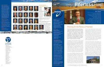 October-December - Peerless Technologies