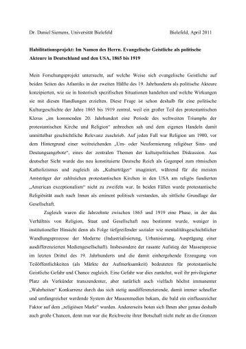 Informationen - Universität Bielefeld