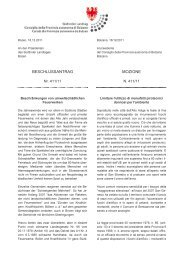 Testo bilingue - Südtiroler Landtag