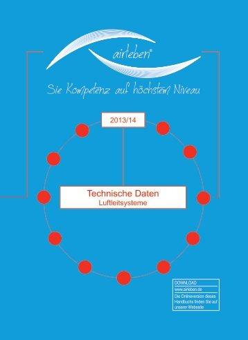 Technische Daten / Luftleitungen für Revisionsunterlagen - airleben