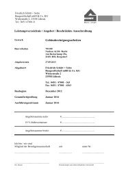 LV Gebäudereinigung - Friedrich Schütt + Sohn Baugesellschaft ...