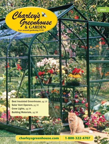 Greenhouses - Charley's Greenhouse