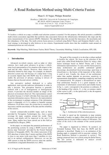 to see a draft pdf version - Heudiasyc - UTC