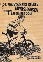 Flyer l - Mountainbike Plausch Rennen Merishausen
