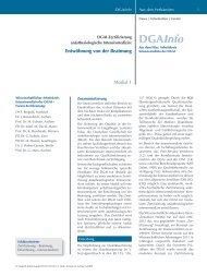 DGAInfo - Wissenschaftlicher Arbeitskreis Intensivmedizin der DGAI