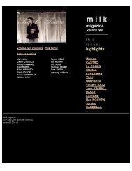 Milk Magazine Volume 02 - WordPress.com