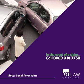 Motor Legal Protection Brochure - GT Law