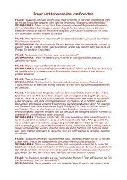 Fragen und Antworten über das Erwachen - Oneness Switzerland