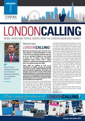 London Calling News