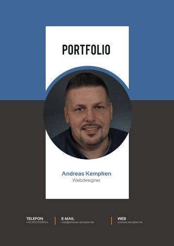 Portfolio-Lebenslauf - Andreas Kempken