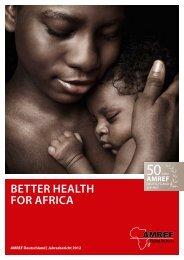 Jahresbericht 2012 - AMREF Deutschland