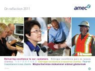 On reflection 2011 - Amec