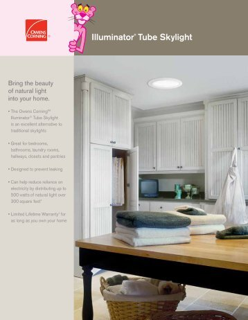 Illuminator® Tube Skylight - Owens Corning