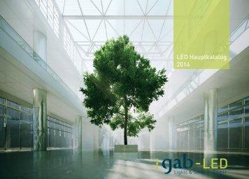 LED Hauptkatalog 2014 - GAB LED Lights & Services GmbH