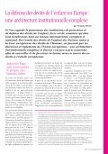DOSSIER : droits de l'enfant en Europe - Dynamo International - Page 6