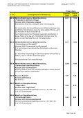 Leistungs- und Preisverzeichnis - Seite 6
