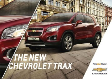 CHEVROLET TRAX THE NEW