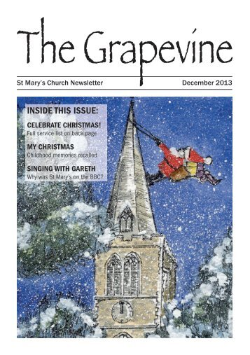 Grapevine December 2013 - St Mary's Church