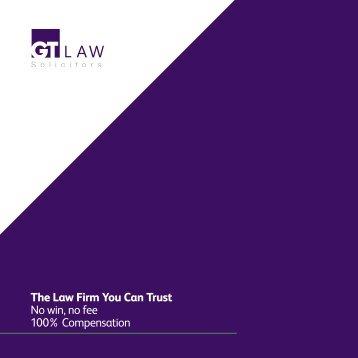 GT Law Brochure