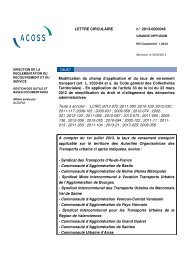 LETTRE CIRCULAIRE n° 20130000046 Modification ... - LexisNexis