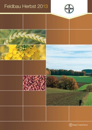Herbstbroschüre 2013 - Bayer Austria