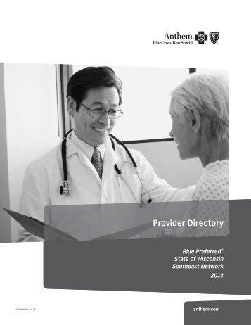 Provider Directory - Anthem