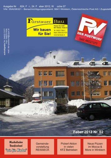 Ausgabe 24.Feber 2012 - Colist.eu
