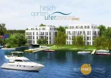 Hirschgarten-Broschuere - Hirschgartenufer