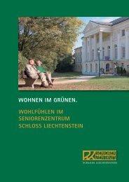 Seniorenzentrum Schloss Liechtenstein - Wiener Privatklinik