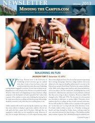 Minding The Campus newsletter - Manhattan Institute